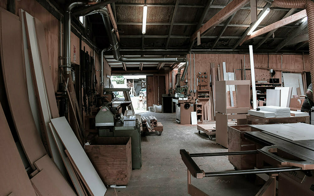 Parkhill Joinery workshop