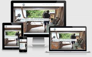 Parkhill Joinery website